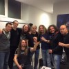 Ian Paice with Purpendicular Backstage Ludwigsburg Germany
