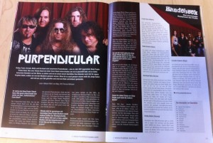 Purpendicular Featured in Music Magazine Austria